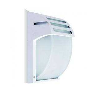 V-TAC Garden Wall Lamp E27 Frost Glass Matt White