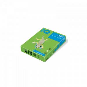 IQ Hartie color A4 80 g/mp 500 coli/top verde intens