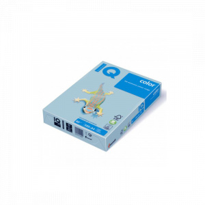 IQ Hartie color A4 80 g/mp 500 coli/top albastru pal