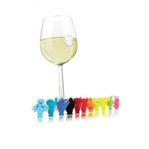 Vino Veritas Glass Markers Party People
