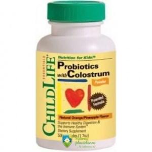 Secom Colostrum plus probiotics copii pudra 50 gr