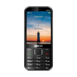 Maxcom MM330 Single SIM Black