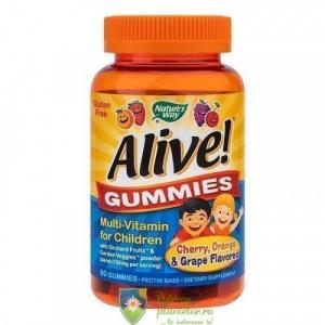 Secom Alive Gummies Multivitamine pentru copii 90 jeleuri