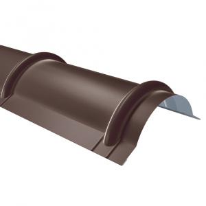 Rufster Coame pentru tigla Premium 0,5 mmgrosime 8019 MS maro-grafit mat structurat