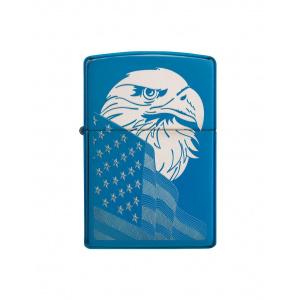 Zippo Brichetă 29882 Eagle & USA Flag Design