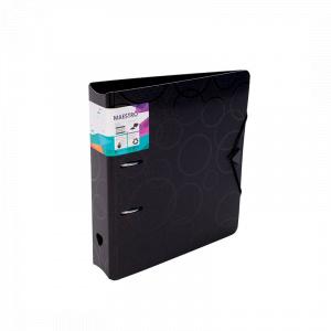 Maestro Biblioraft PP foam, cu elastic, 7.5 cm, 386455, negru
