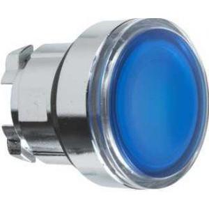 Schneider Electric ZB4BW363 : Cap De Buton Ilum., Incas., Albastru Ø22, Rev. Cu Arc, Pentru Led Integral