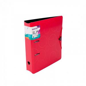 Maestro Biblioraft PP foam, cu elastic, 7.5 cm, 386455, rosu