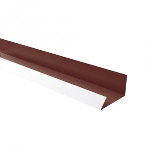 Rufster Jgheab ascuns Premium 0,5 mmgrosime 8017 MS maro mat structurat