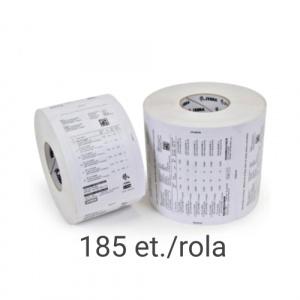 Zebra Role etichete termice Z-Select 2000D 50.8x50.8mm  185 et./rola - 3003059