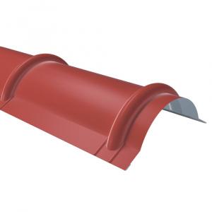 Rufster Coame pentru tigla Eco 0,45 mmgrosime 3011 MS rosu mat structurat