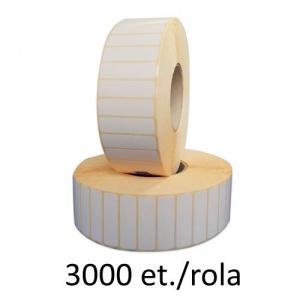 ZINTA Role etichete termice, 65x22mm, 3000 et./rola - 65X22X3000-TH