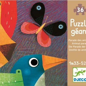 Djeco Puzzle gigant Parada animalelor