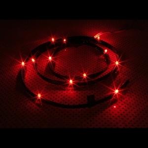 NZXT Sleeved LED Kit - Red CB-LED10-RD