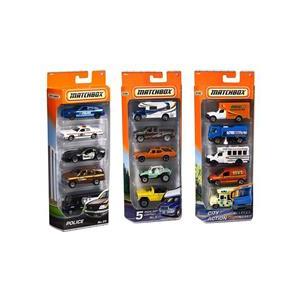 Matchbox Jucarie Vehicles Set Of 5 (Aleatoriu)