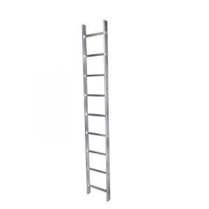 BISONTE STR109 Scara simpla 9 trepte, 2.53 m aluminiu