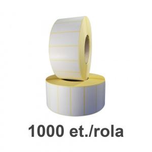 ZINTA Role etichete termice 70x30mm, 1000 et./rola - 70X30X1000-TTH