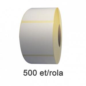 ZINTA Role etichete semilucioase 58x93mm, 500 et./rola - 58X93X500-SGP