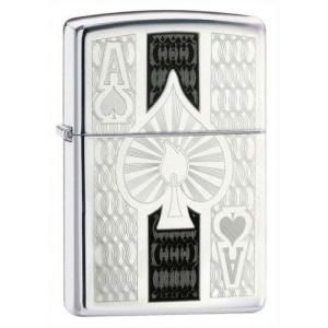 Zippo Intricate Spade Design 24196
