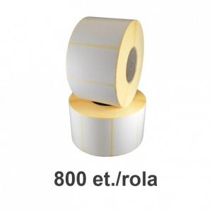 ZINTA Role etichete termice 58x43mm, 800 et./rola - 58X43X800-TH