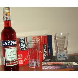Pascal Bruckner Campari 70cl, 2 pahare Campari, plus 2 carti: Hotii de frumusete & Luni de fiere