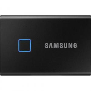 Samsung T7 Touch, 1TB, USB-C 3.1, Metallic Black MU-PC1T0K