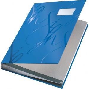 Leitz Mapa pentru semnaturi   Design - Albastru