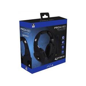 4Gamers Set Casti Premium Gaming Black