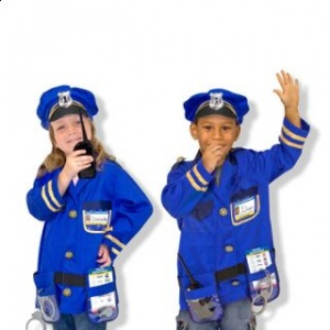 Melissa and Doug Costum carnaval copii Ofiter de Politie