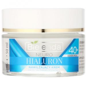 Bielenda Neuro Hyaluron crema concentrata hidratantă cu efect de netezire 40+ 50 ml