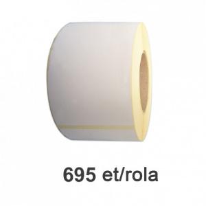 ZINTA Role etichete semilucioase 148x210mm A5, 695 et./rola - 148X210X695-SGP
