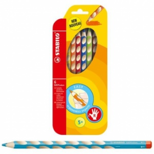 Stabilo Creioane colorate Easy Ergo
