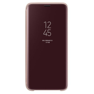 Samsung Clear View Standing Cover gold pt Galaxy S9