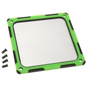 SilverStone Filtru praf 120mm rama magnetica silicon Black/Green (SST-FF124BV-E)