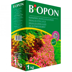 Biopon Ingrasamant pentru flori de gradina 1kg