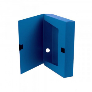 Skag Cutie arhivare, A4, 6 cm, plastic, albastru