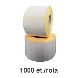 ZINTA Role etichete semilucioase 55x30mm, 1000 et./rola - 55X30X1000-SGP