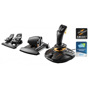 Thrustmaster T.16000M FCS FLIGHT PACK: Joystick, Throttle and Rudder pedals for PC  2960782