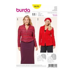 Burda Style Tipar jacheta 6616