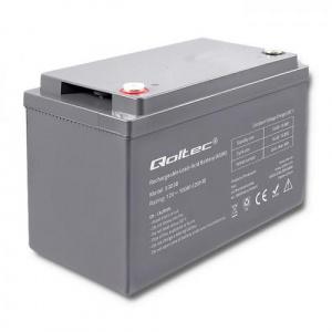 Qoltec Baterie  , 12V, 100Ah 53038