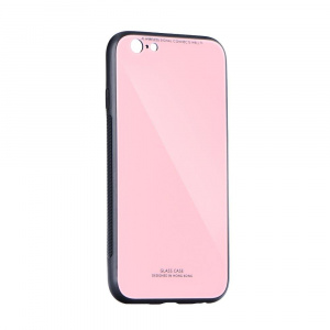 Forcell Glass iPhone XR Pink