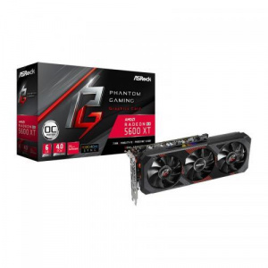 Asrock Radeon RX 5600 XT Phantom Gaming D3 OC 6GB GDDR6 192bit (RX5600XT PGD3 6GO)
