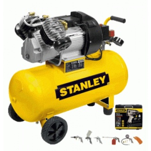 Stanley Compresor DV2 400 10 50 50L, 10 bar + accesorii