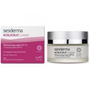 Sesderma ACGLICOLIC classic cremă hidratant SPF15 50 ml