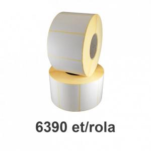ZINTA Role etichete termice 40x21mm, 6390 et./rola - 40X21X6390-TH