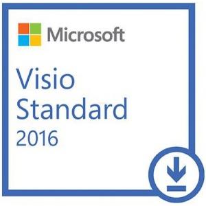 Microsoft Visio Standard 2016 32/64 bit Licenta Electronica (D86-05549)