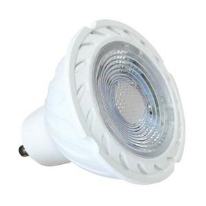 V-TAC Reflector LED cu Cip SAMSUNG - GU10 7W Plastic SMD cu lentilă 6400K