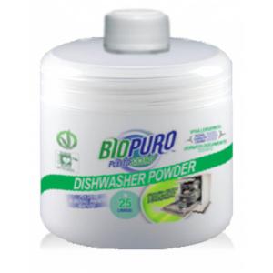 BIOPURO Detergent hipoalergen pudra BIO pentru masina de spalat vase 500g