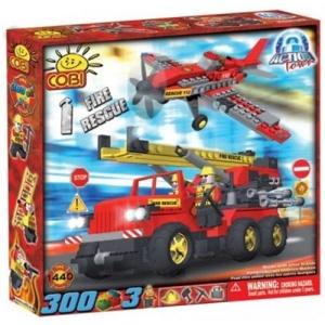 Cobi Masina si avion de salvare in caz de incendiu - 1440