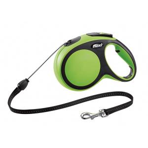 Flexi Comfort M - 5 m lesă tip șnur verde
